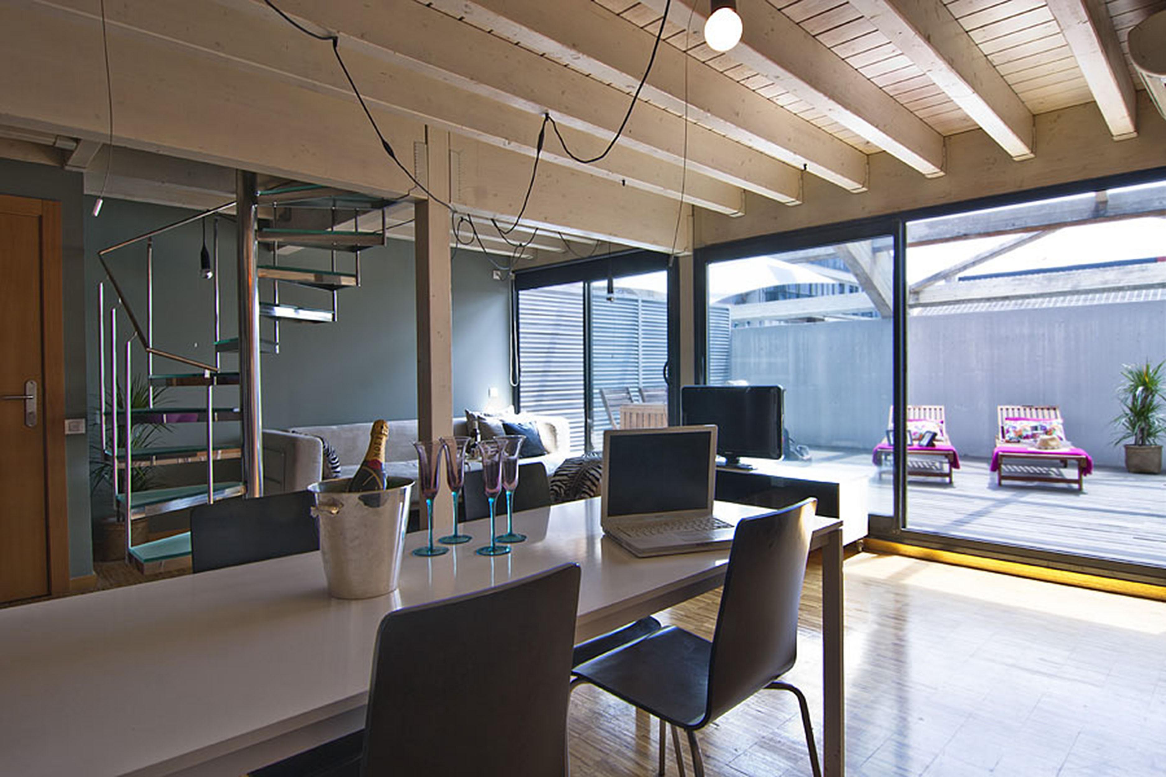 apartamento con terraza privada apartamento por horas en